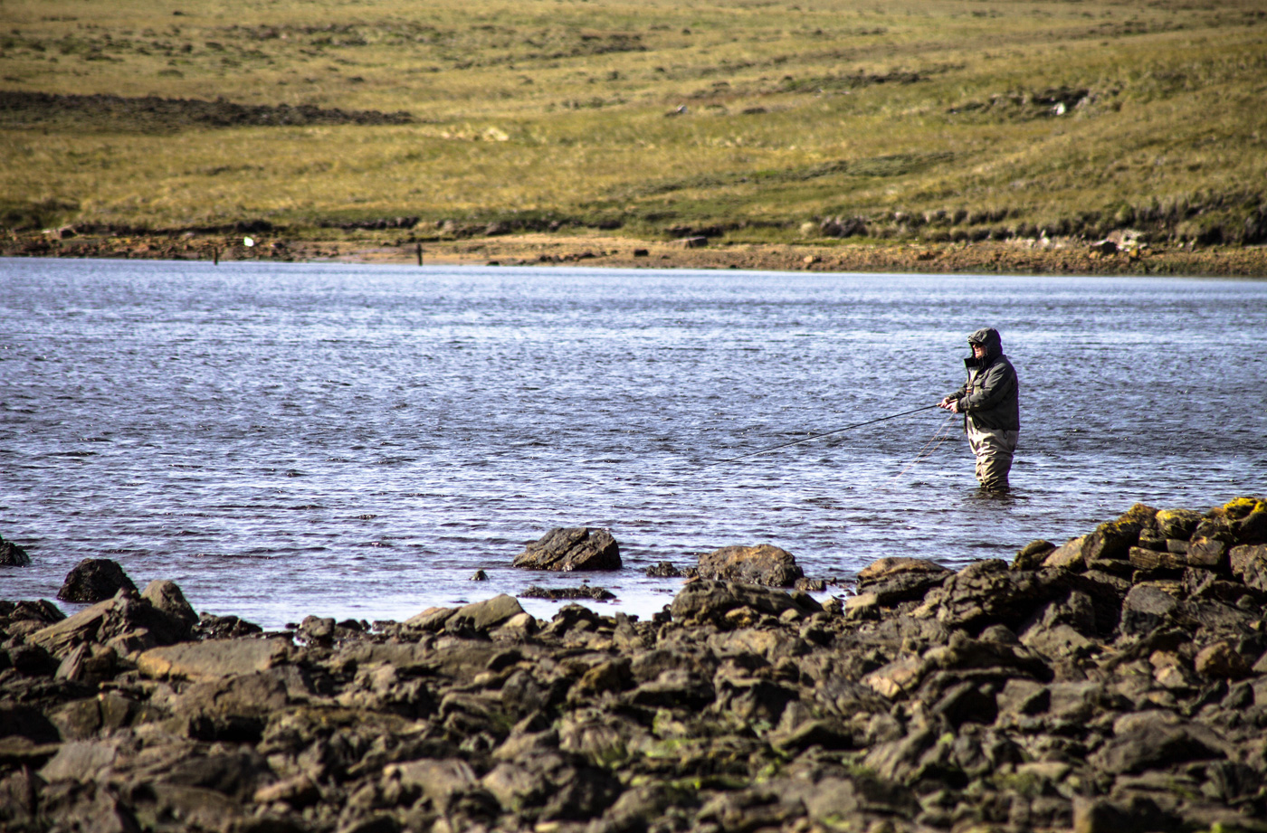 Fly Fishing on the Falkland Islands
